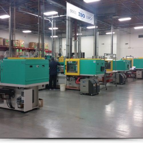 plastik fabrika içi görüntü